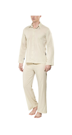 Traveler's Tree Insect Shield - Ropa de dormir Hombre - men beige